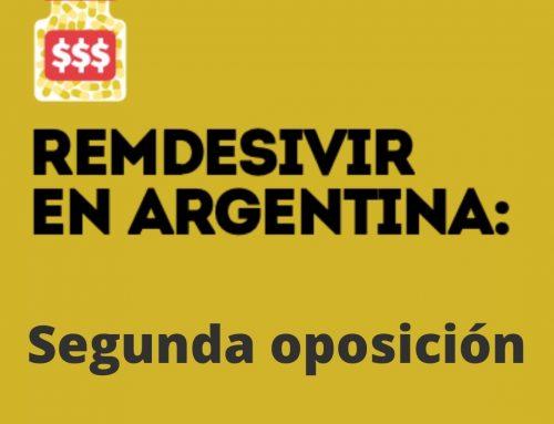 Remdesivir en Argentina: una nueva oposición a patentes de Fundación GEP busca frenar el abuso de Gilead